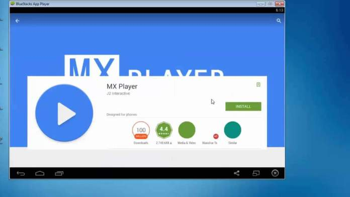 install mx player in windows