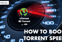 Make uTorrent download faster in slow connection