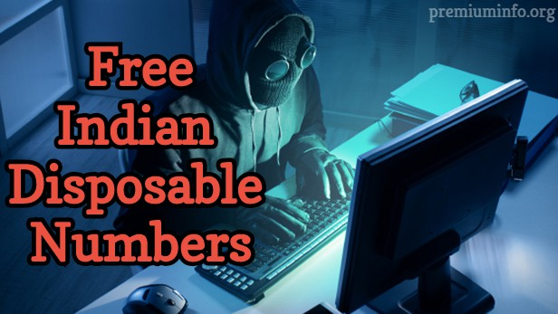 indian disposable number
