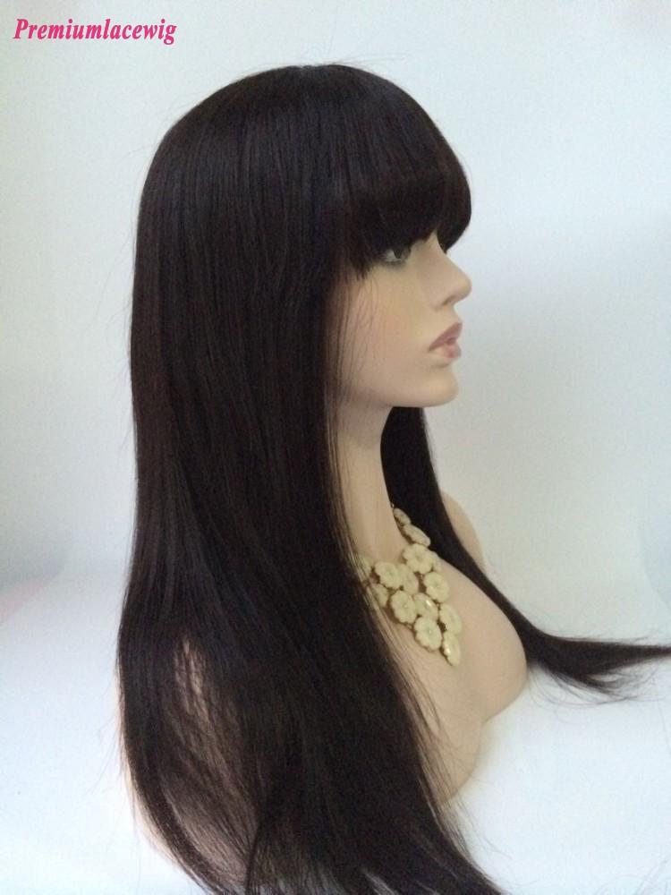 20inch Natural Color Straight Malaysian Virgin Hair Full