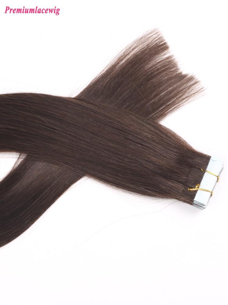 20inch 2 Straight Brazilian Human Hair Double Tape In