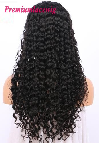 20 Inch Lace Front Wig In 150 Density Brazilian Deep Wave