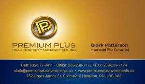 Clark Patterson business card