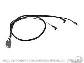 1967-1968 MUSTANG SMALL BLOCK ENGINE GAUGE FEED HARNESS (W