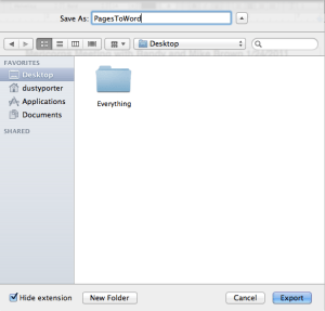 Pages To Word Document