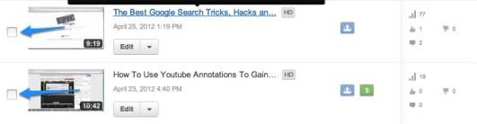 Youtube TickerBox