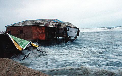 Kuramo Beach Lagos ocean surge