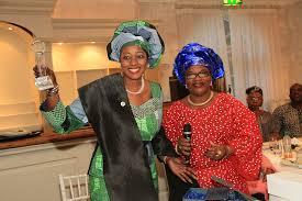 Late Funmi Olayinka (left)