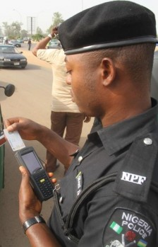 police biometric central motor registration
