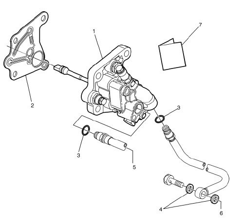 Volvo Fuel Pump Kit 85104373