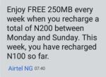 Airtel Data Bundle Plan And Subscription Codes