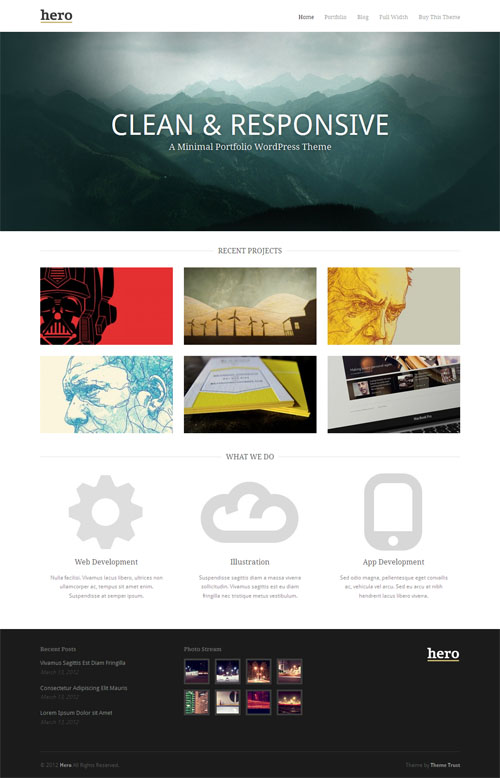 template themes