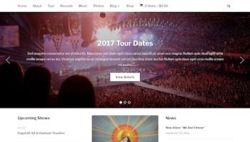 50+ Best Music WordPress Themes 2019