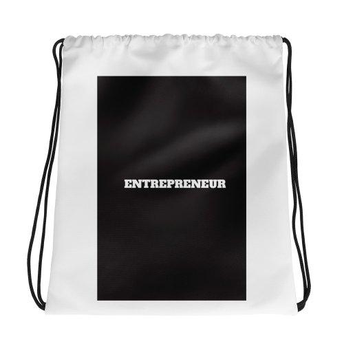 Entrepreneur Drawstring bag