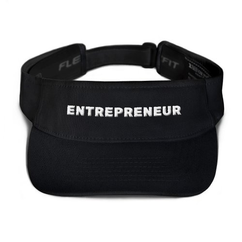 Entrepreneur Visor