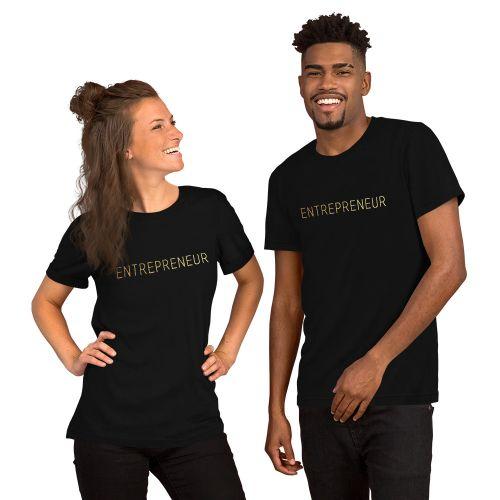 Golden Entrepreneur T-Shirt (Unisex)