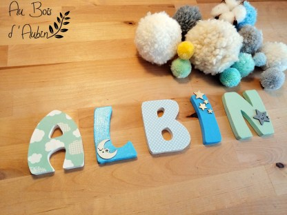 Albin prénom bois Dream