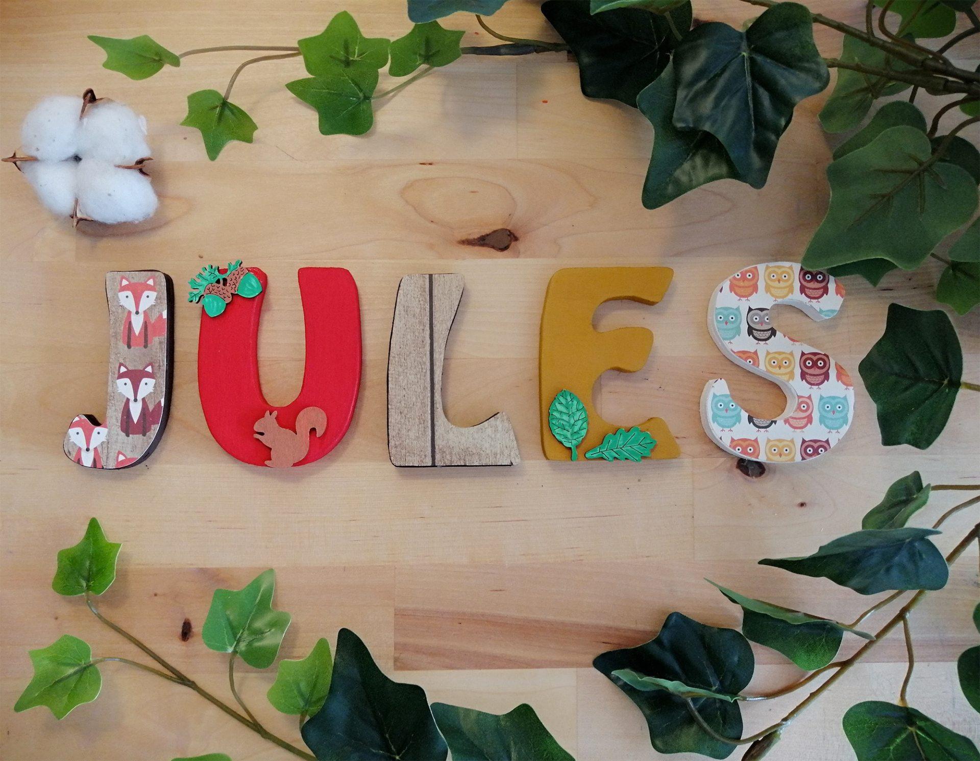 Jules prénom bois forêt