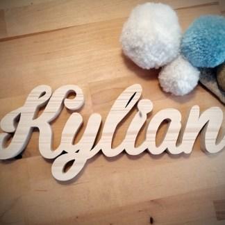 Kylian prénom en bois