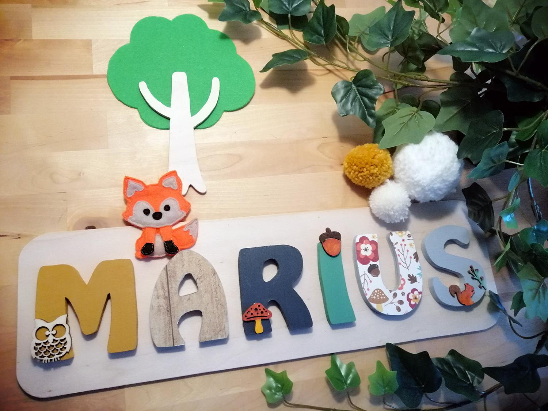 Marius prénom bois forêt