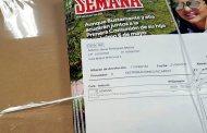 La revista SEMANA no llega a estar en nuestros puntos de venta una semana