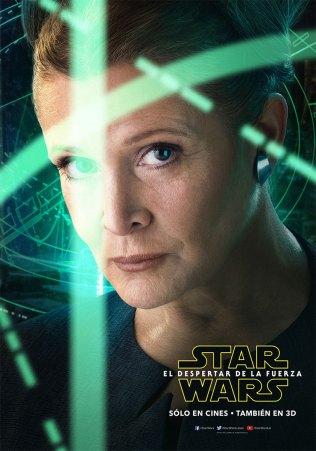 Conoce los posters de los personajes de Star Wars: El Despertar de la Fuerza