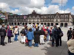 Disfrutan visitantes recorridos por la Feria y Festival Cultural del Alfeñique Toluca 2018