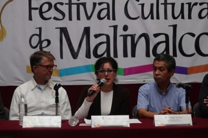 Participa Secretaría de Cultura en Festival Cultural Malinalco 2018