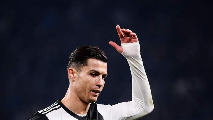 Cristiano left the game against Milan, obviously upset that he could not continue. (Free Press Photo: AFP)