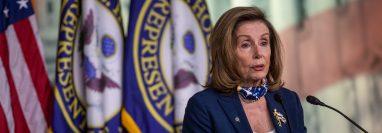 La senadora Nancy Pelosi pidió investigar las denuncias contra un centro preventivo de migrantes por histerectomías realizadas a mujeres detenidas. (Foto Prensa Libre: EFE)