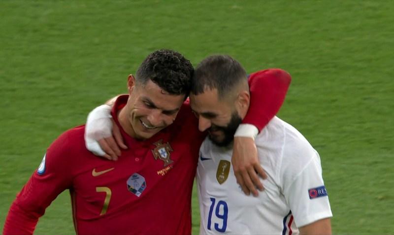 El especial reencuentro de Cristiano Ronaldo y Benzema en el duelo en que  el portugués igualó el récord de Ali Daei – Prensa Libre