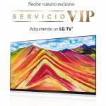 LG ofrece servicio vip con asistencia técnica para televisores
