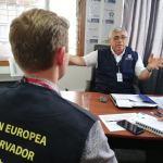 Observadores de la unión europea visitan sede de la ODPE Trujillo