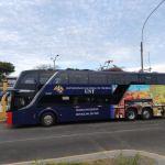 UNT inició recorrido para transportar a servidores de hospitales