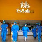 Pacientes internados por coronavirus – COVID 19, en el hospital Virgen de la Puerta de EsSalud La Libertad fueron dados de alta