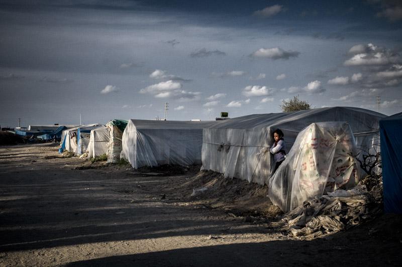 Adana Çavuşlu mevsimlik tarım işçisi kampı (c)Servet Dilber/Hayata Destek Derneği 2014