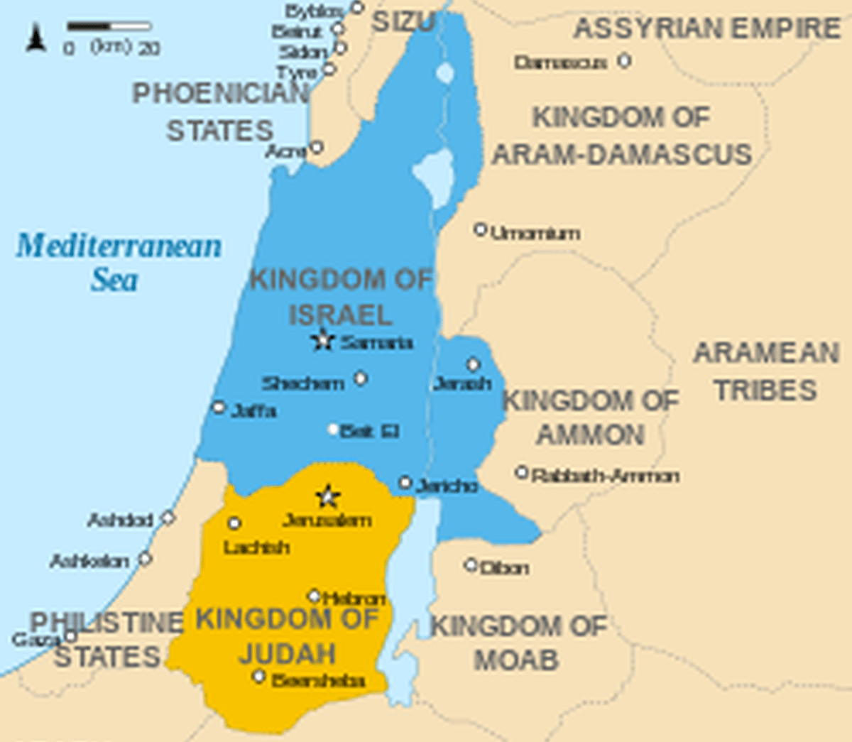 Ancient Israelites Unaware The Place Supposed To Be Called