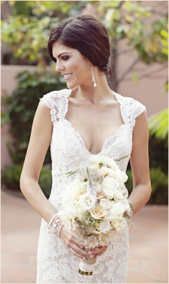 Monique Lhuillier Scarlet  Real Wedding  PreOwned Wedding Dresses