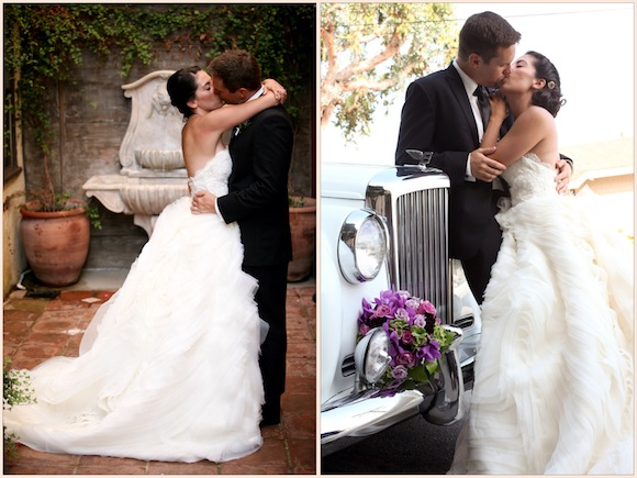 Andrea  Taylor  Lazaro Wedding from Jim  Kelly Photography  PreOwned Wedding Dresses