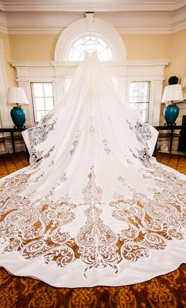 other knightly royal wedding gown with long train 4