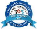 Best Prepaid Card Award Runner Up Badge
