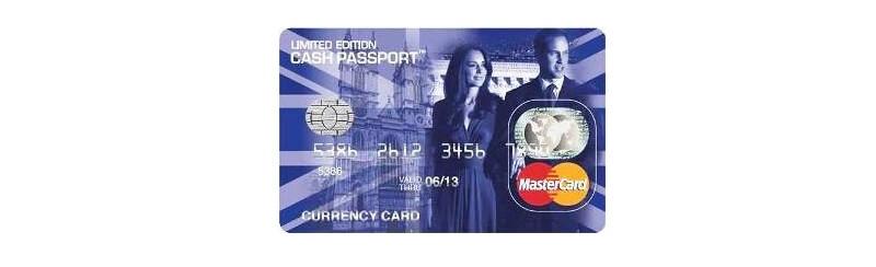 Limited Edition Royal Wedding Travelex prepaid card