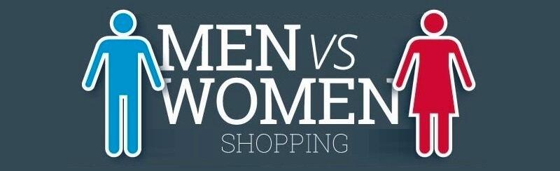 Men Vs Women Shopping