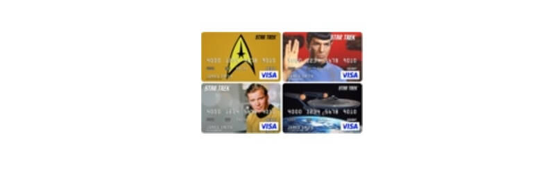 Star Trek Prepaid Cards
