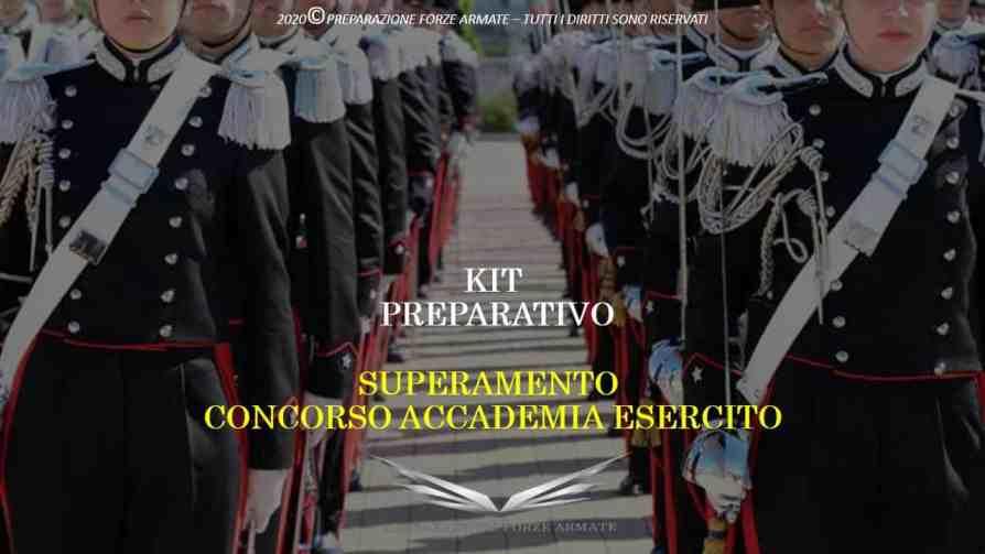 libro concorso accademia esercito