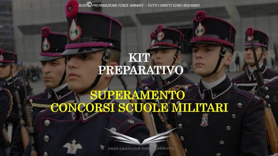 Prossimi Concorsi Forze Armate 2021