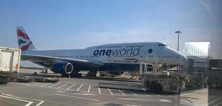 British Airways Boeing 747-400 Oneworld Livery