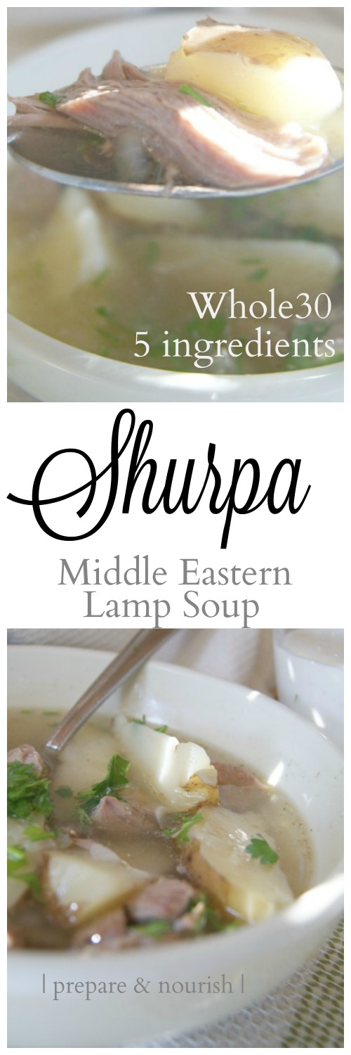 Shurpa - Middle Eastern Lamb Soup: #whole30 compliant; hearty; easy to make; delicious.