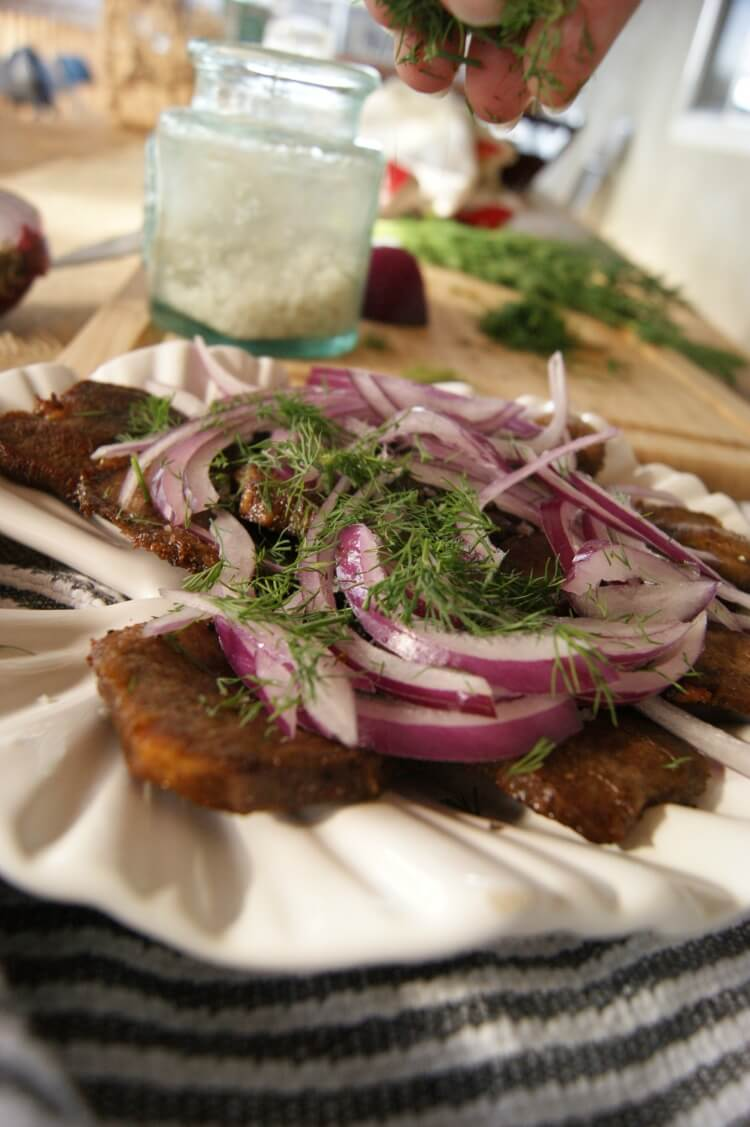 Learn how easily to cook beef tongue and find a delicious Tongue Appetizer.