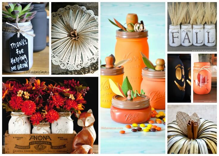 24 Mason Jar Crafts For Fall Prepare Nourish